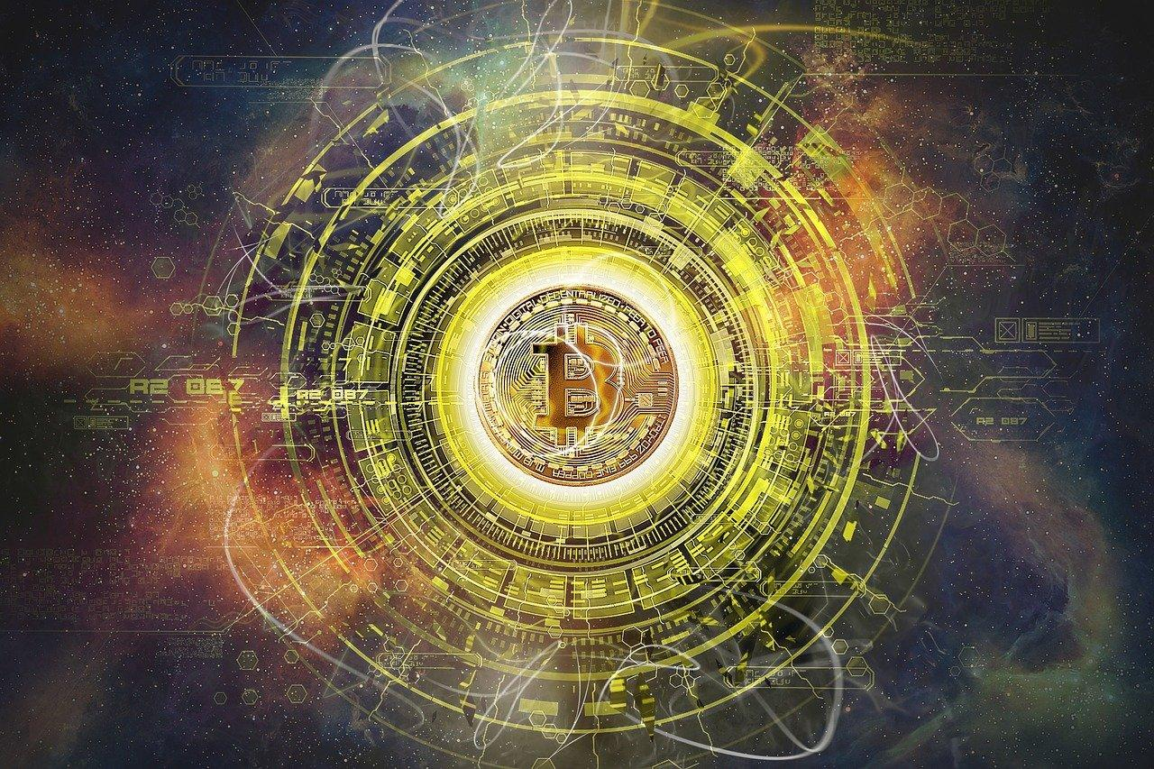 Digital Art Bitcoin