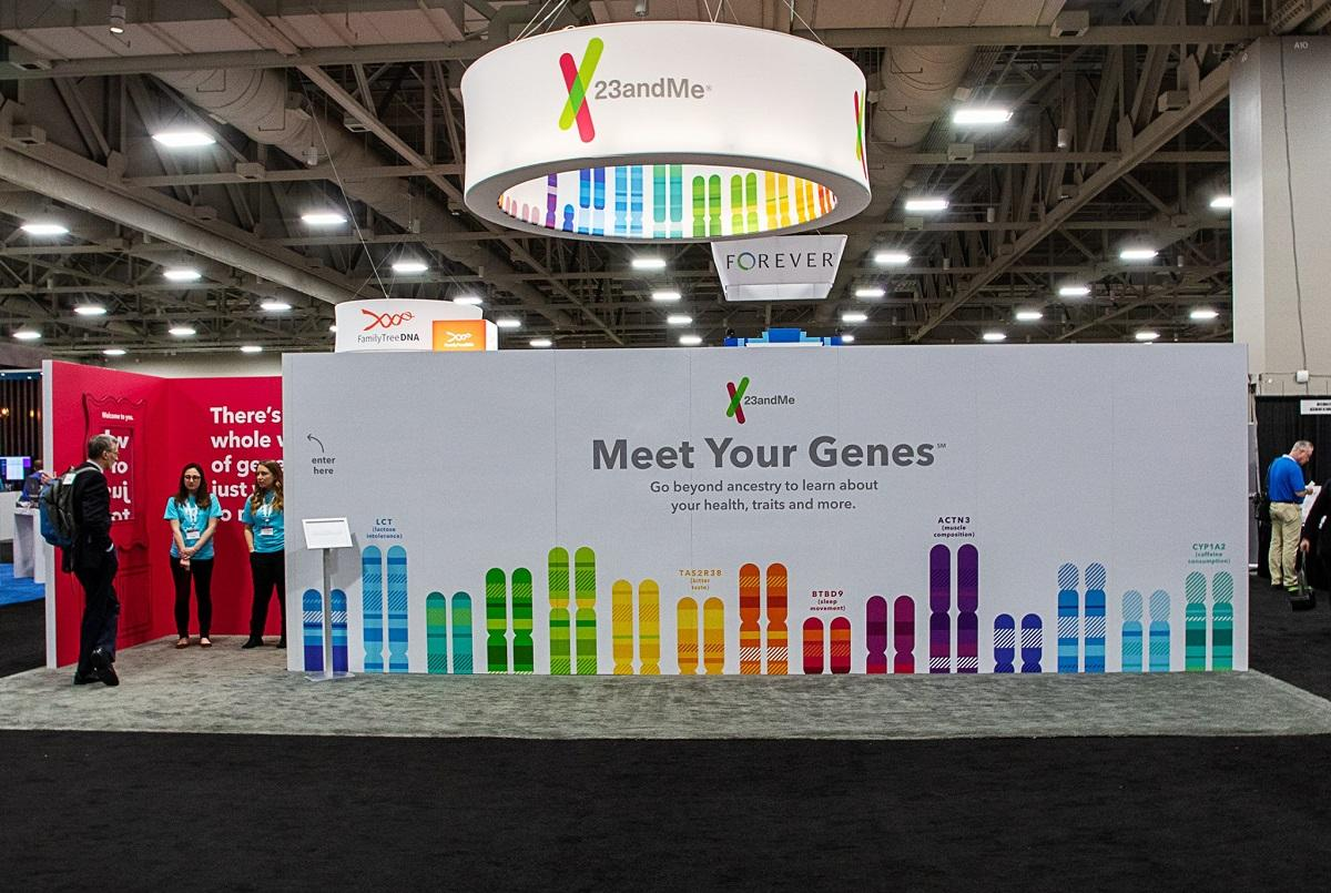 23andMe Booth