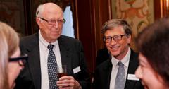 Bill Gates Sr. and Bill Gates Jr.
