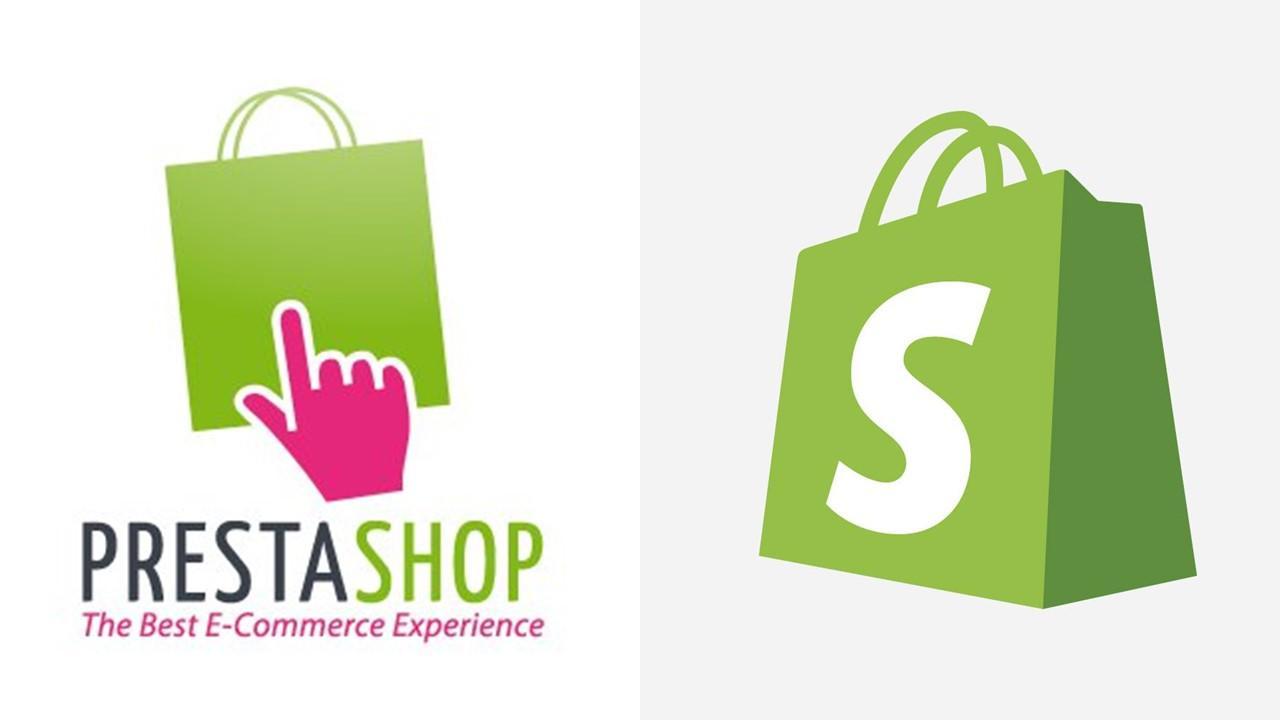 PrestaShop and Spotify logos