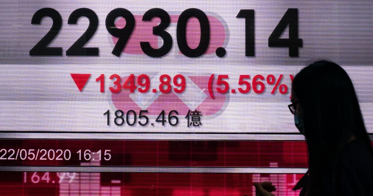 Hang Seng index