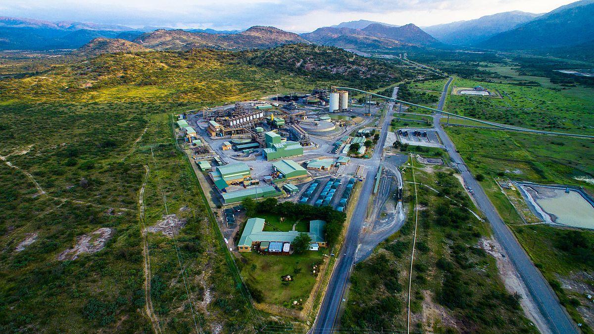platinum mining site
