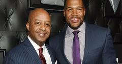 Marvin Ellison and Michael Strahan