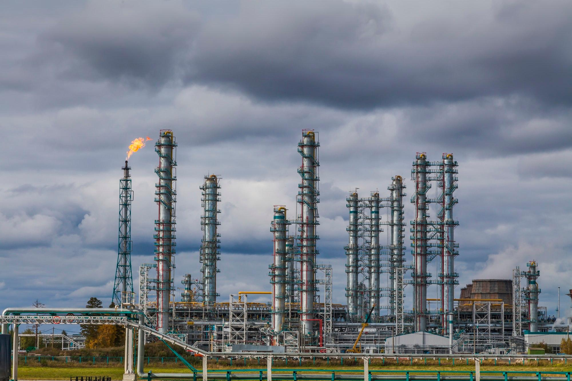 uploads///oil refinery factory at the cloudy sky petrochemical plant petroleum