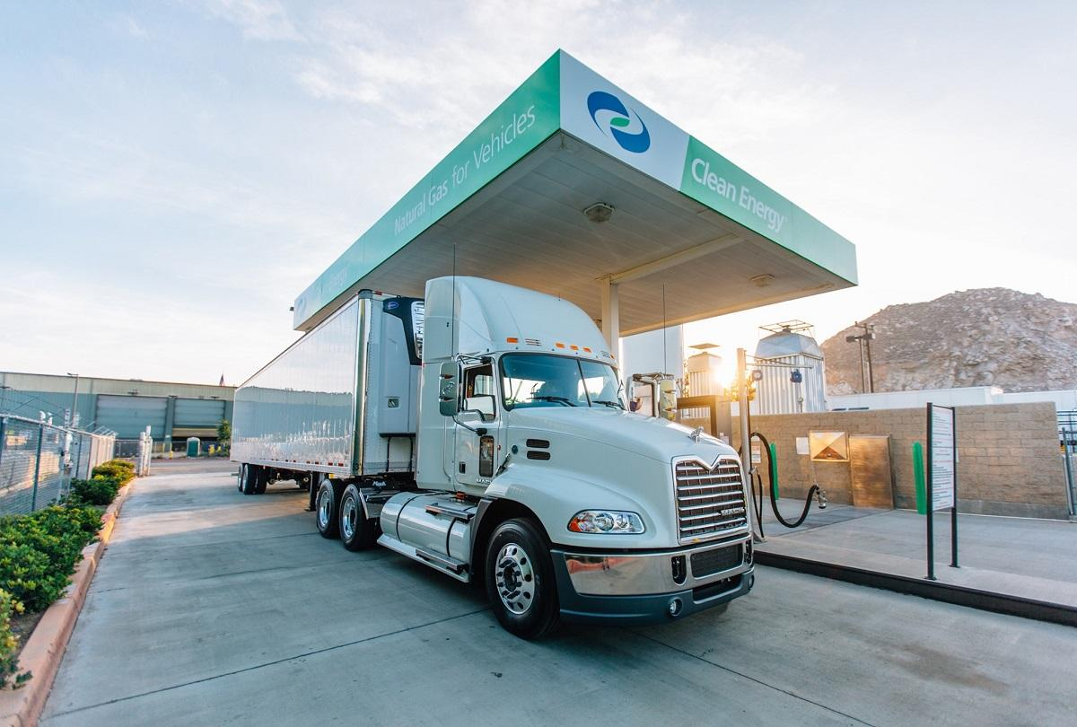 Clean Energy Fuels Station