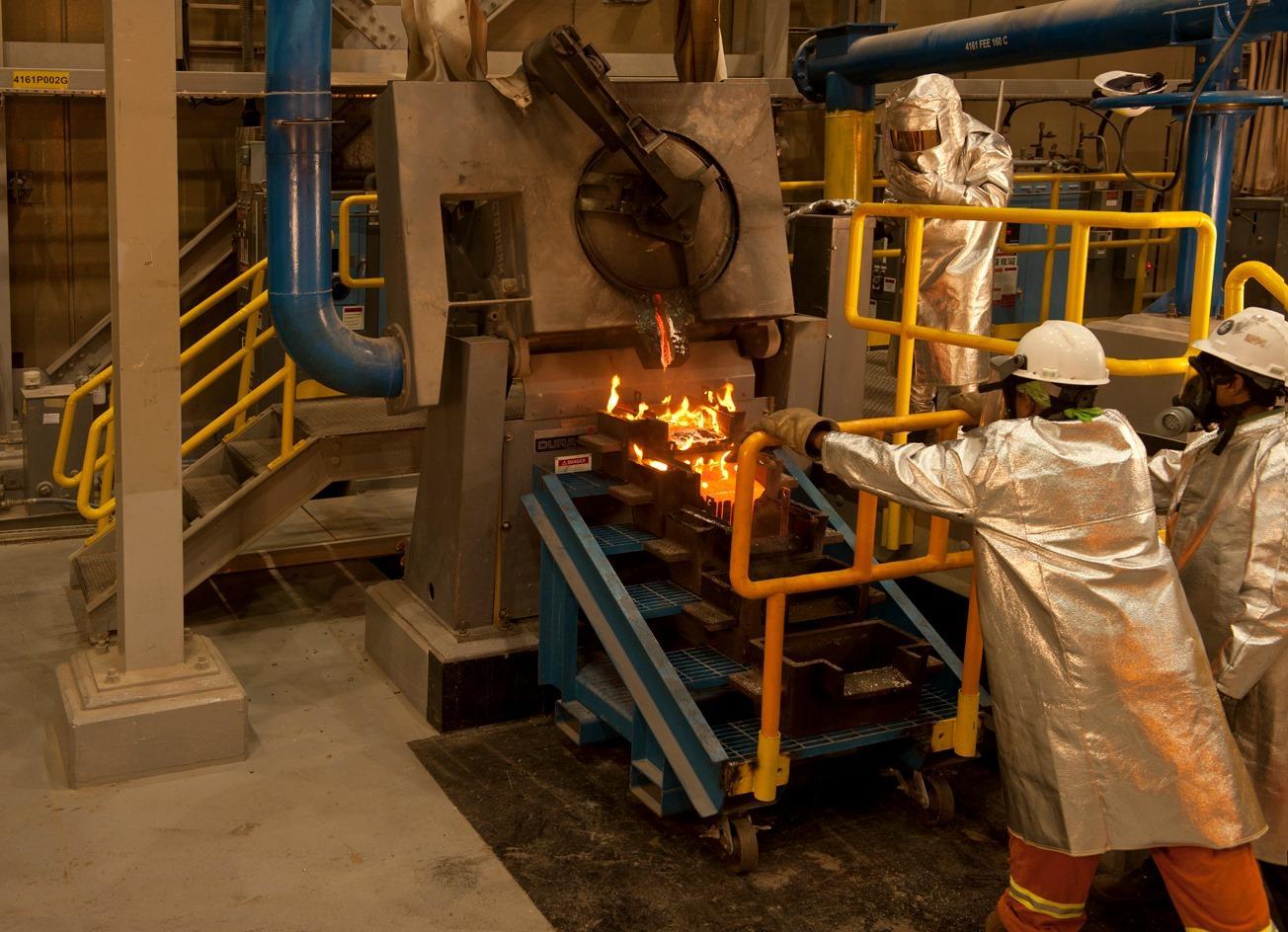 extraction de barriques d'or