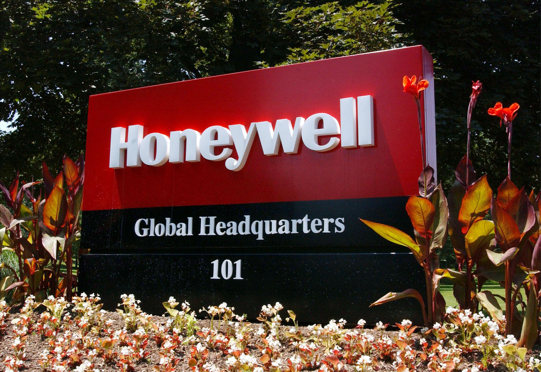 Honeywell sign