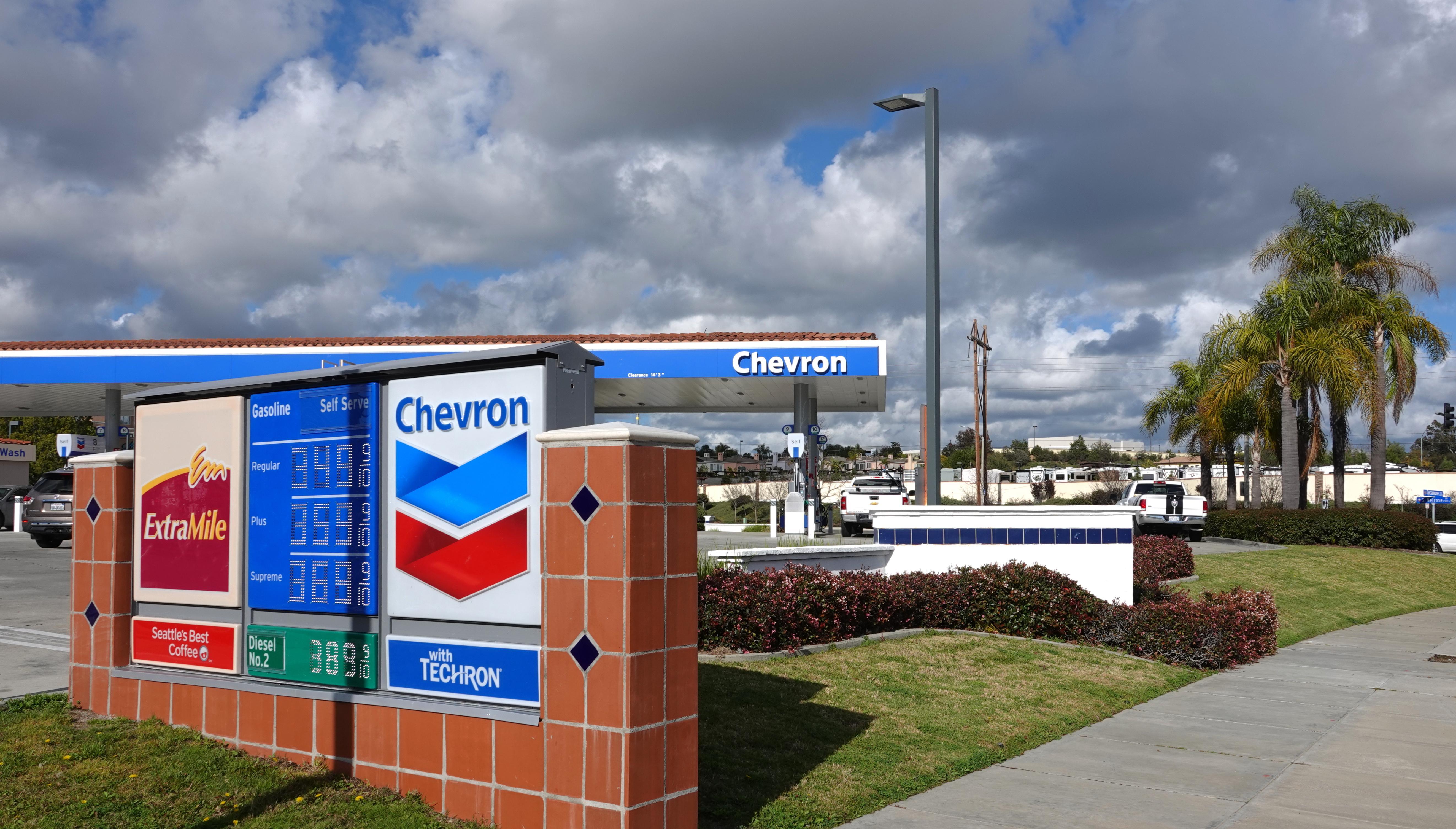 uploads///Chevron stock price CVX today