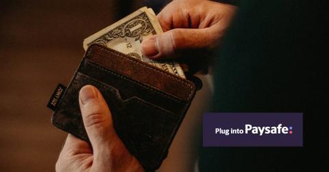 Wallet and Paysafe logo