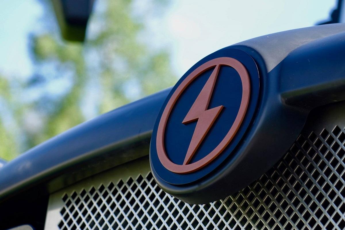 Lion Electric logo on a school bus