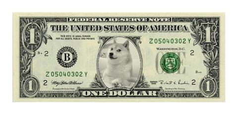 objectif d'un dollar dogecoin