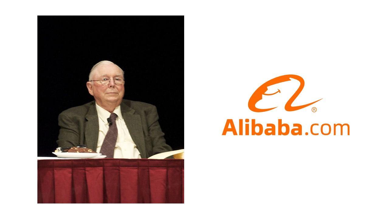 Charlie Munger, Alibaba logo