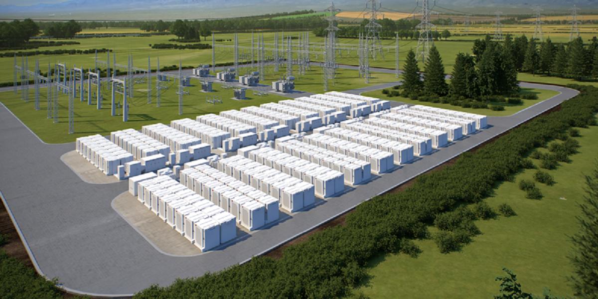 Fluence Energy storage units
