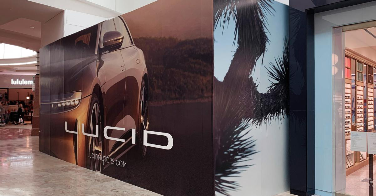 Lucid Motors sign