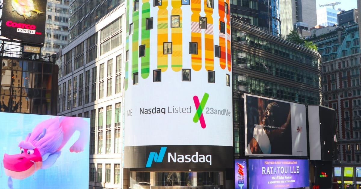 23andMe's Nasdaq listing