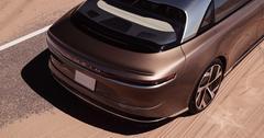 A Lucid electric car