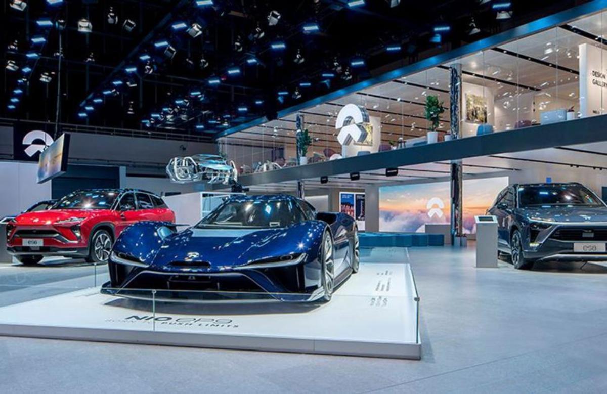 voitures électriques premium nio