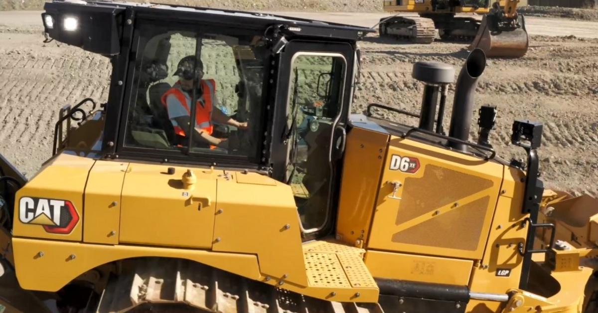 Caterpillar construction equipment