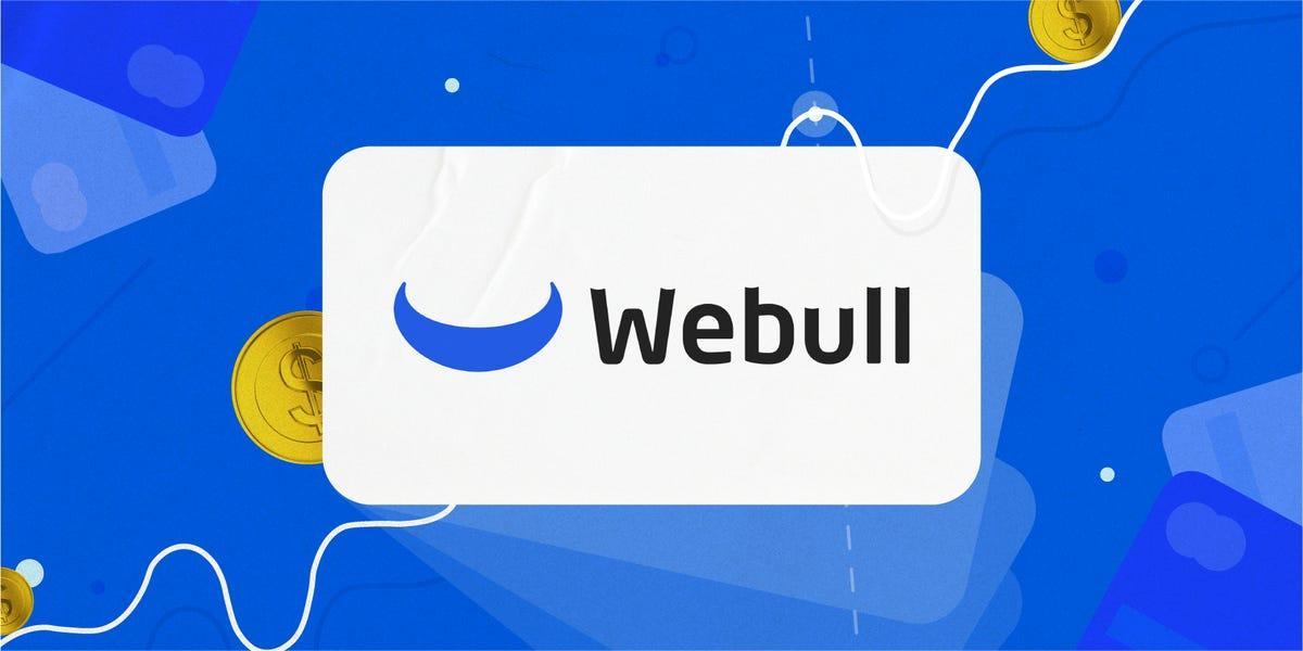 Webull Logo and Background