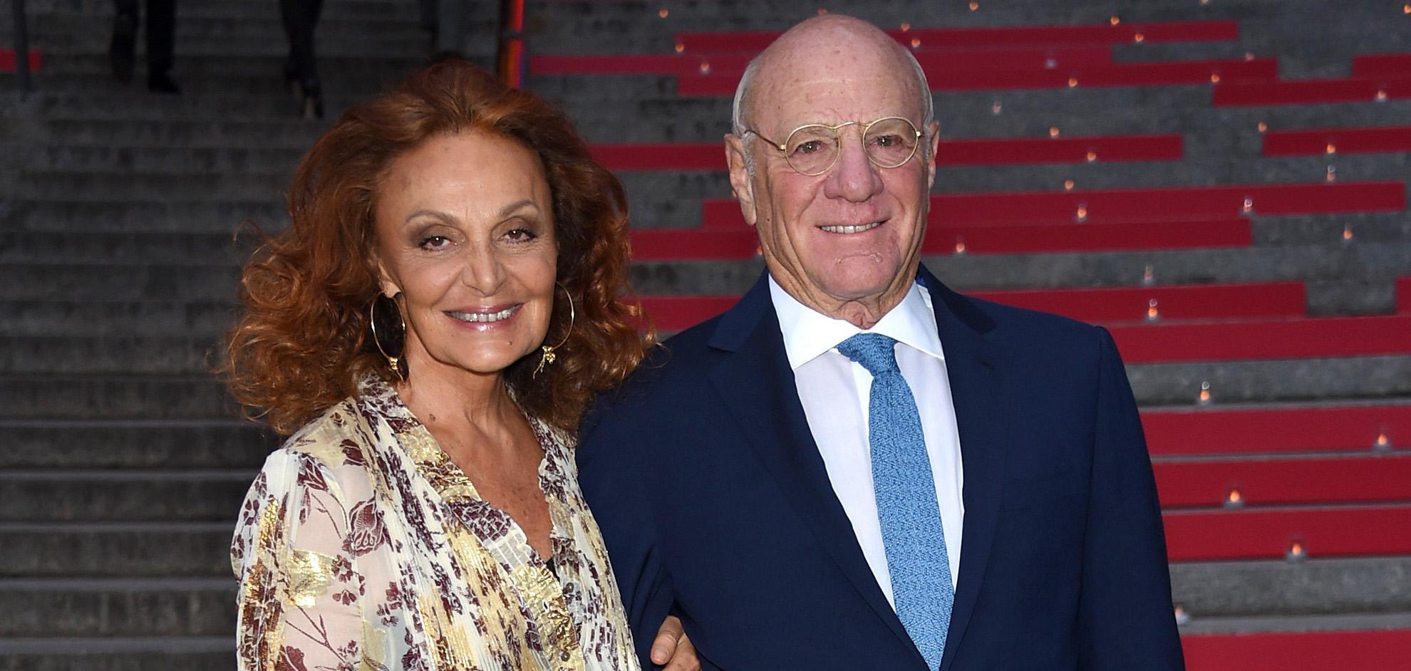 Diane von Furstenberg et Barry Diller