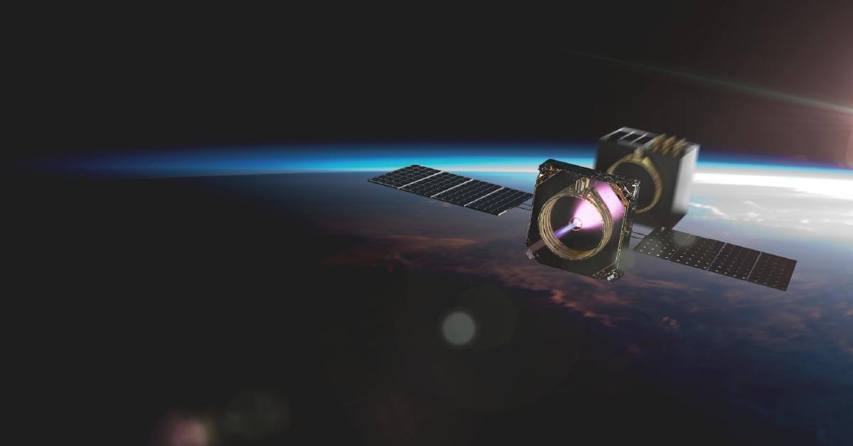 Momentus space satellite