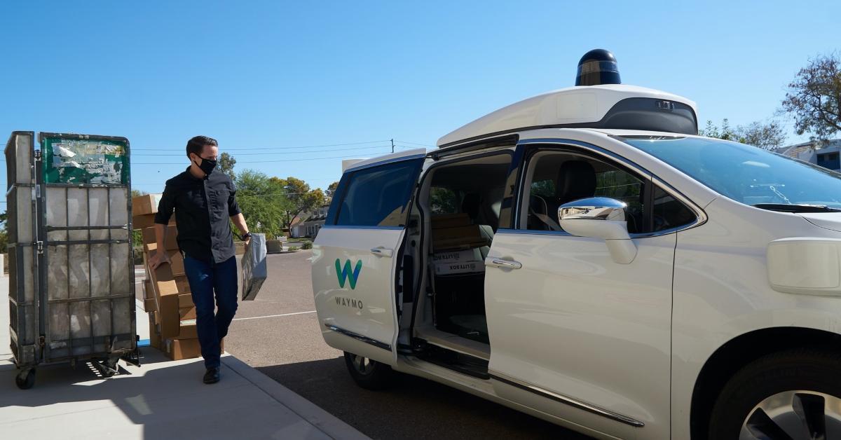 Waymo autonomous vehicle