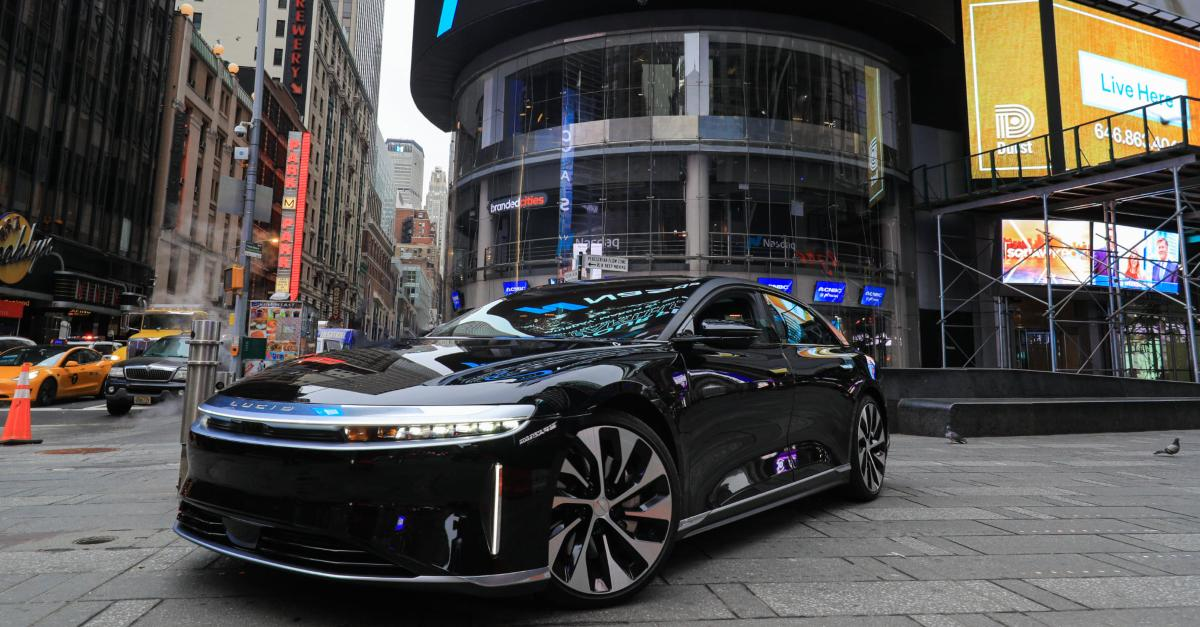 Lucid Air car