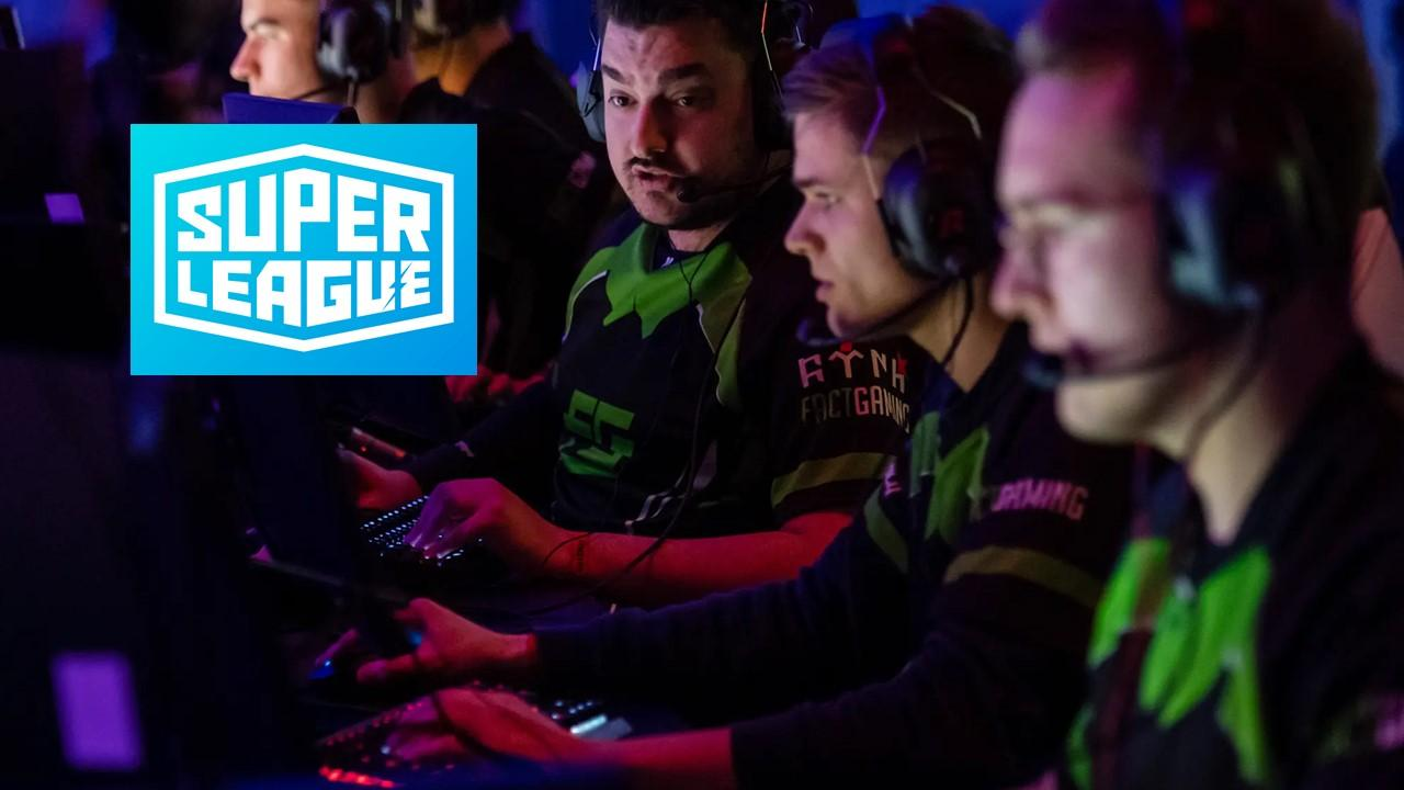 Gaming tournament and Super League Gaming logo