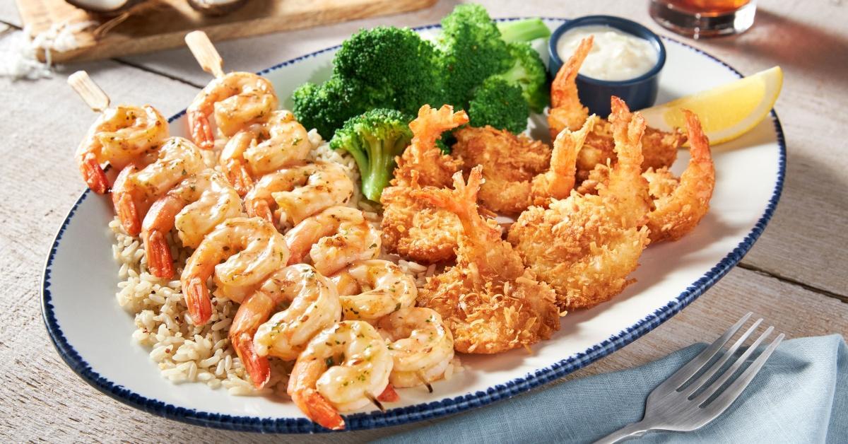 Red Lobster shrimp platter