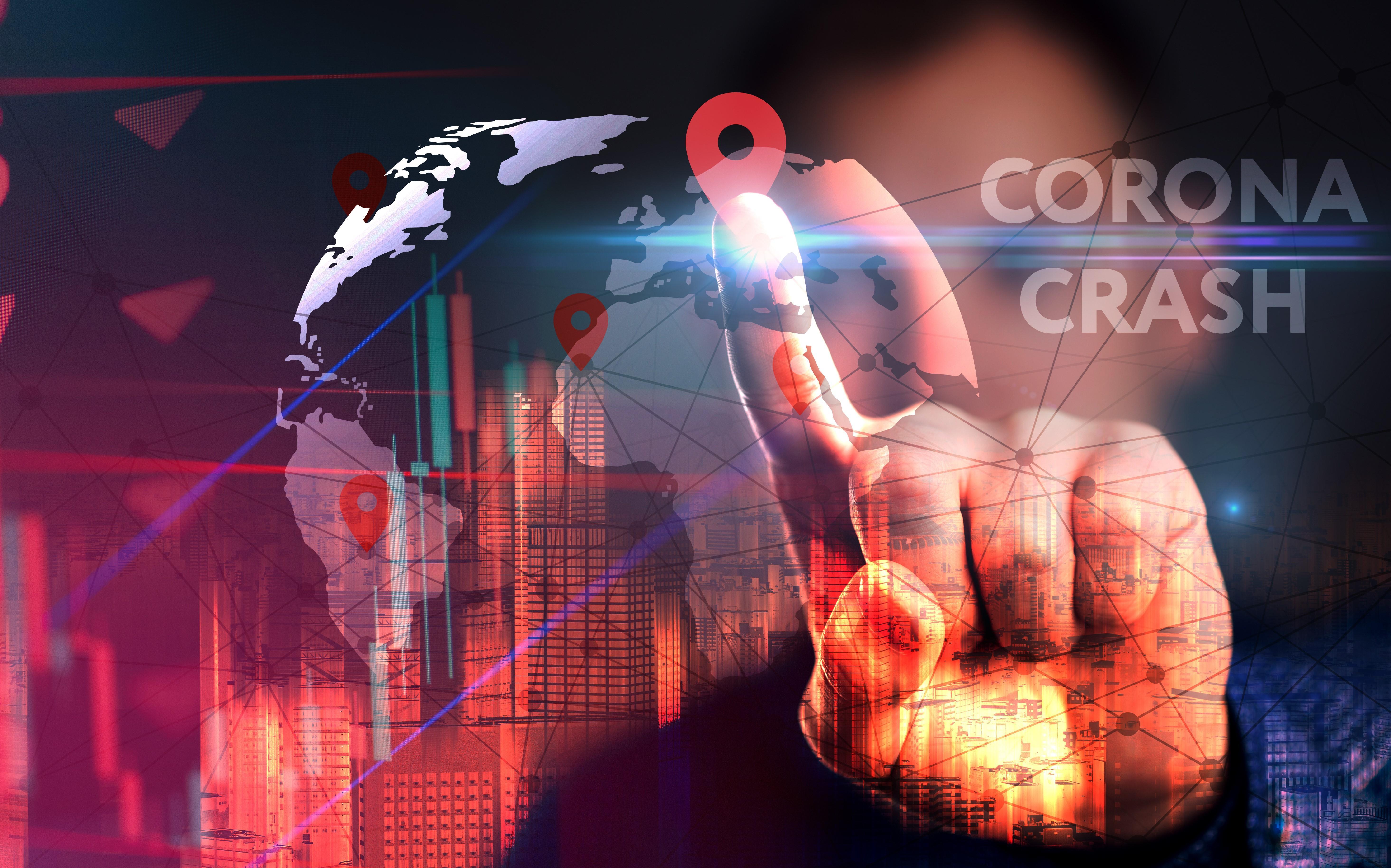 uploads///US stock market crash double bottom Covid