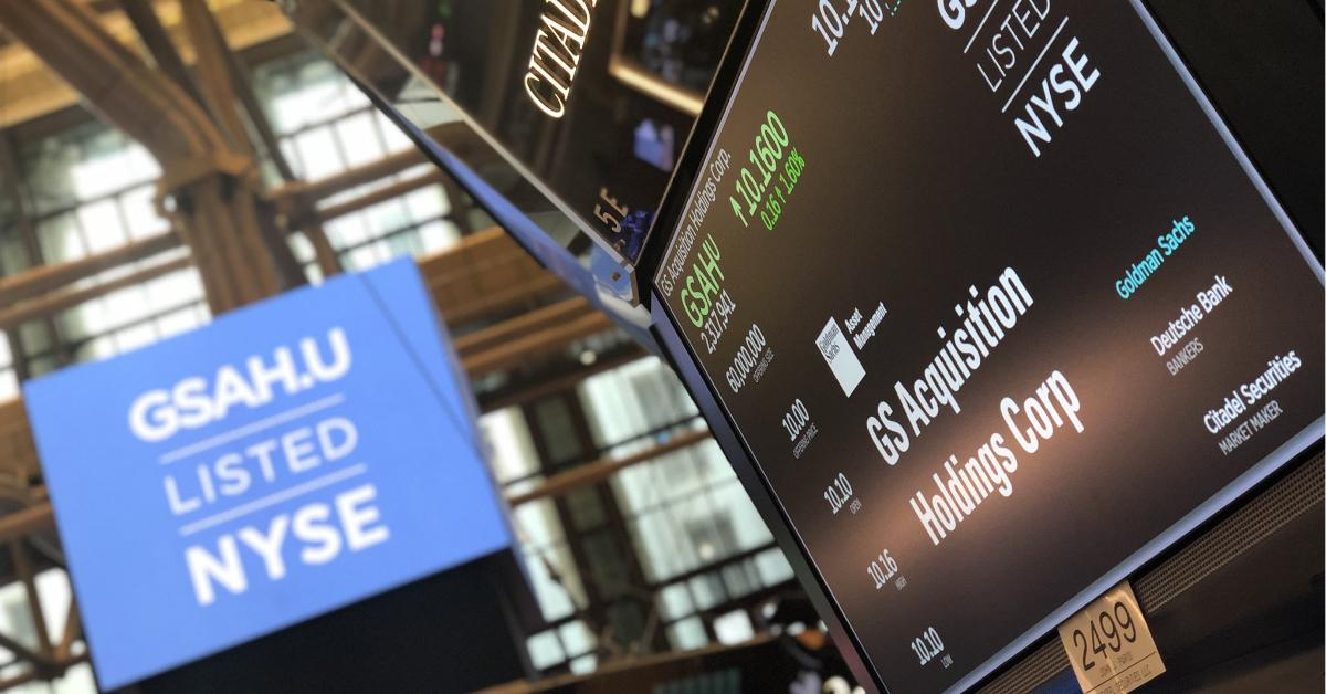 Should You Buy GS Acquisition (GSAH) SPAC Stock Before a Merger?
