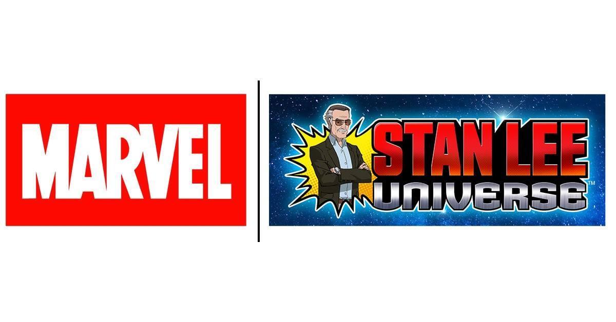 Genius Brands and Marvel banner