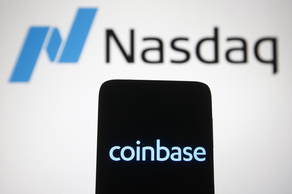 Coinbase and Nasdaq sign