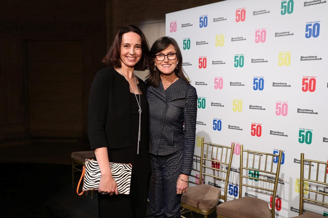 Cathie Woods at the Bloomberg 50 Celebration In New York City