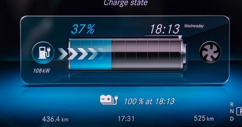 interface de batterie mercedes eq