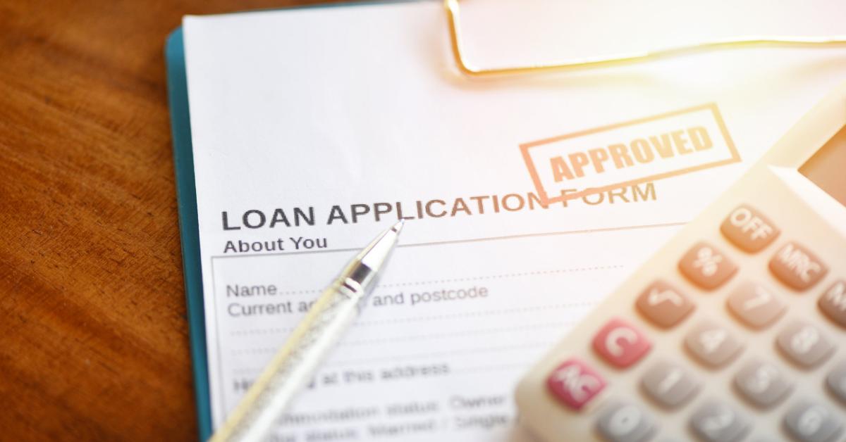 Loan application paperwork