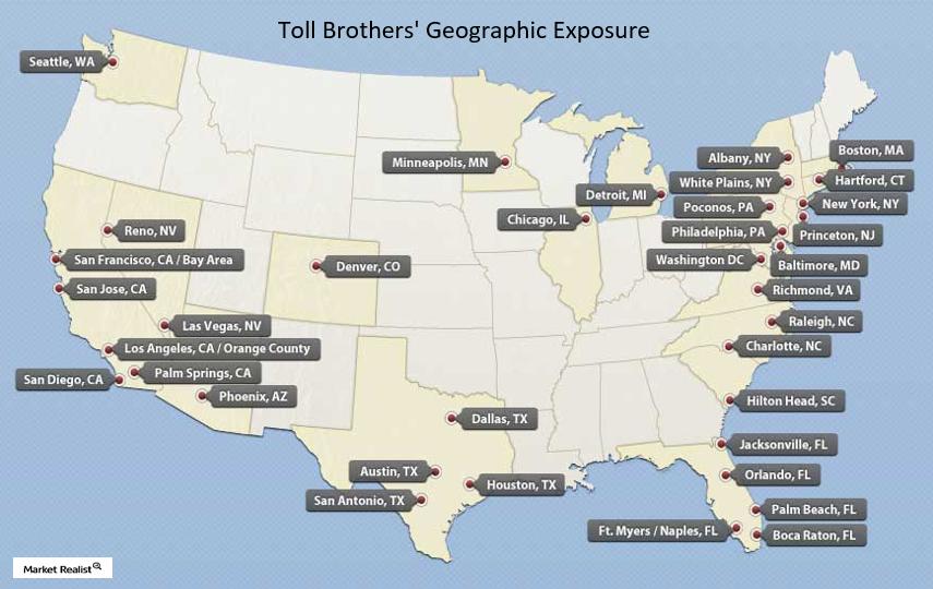 uploads///Toll Brothers Geo footprint