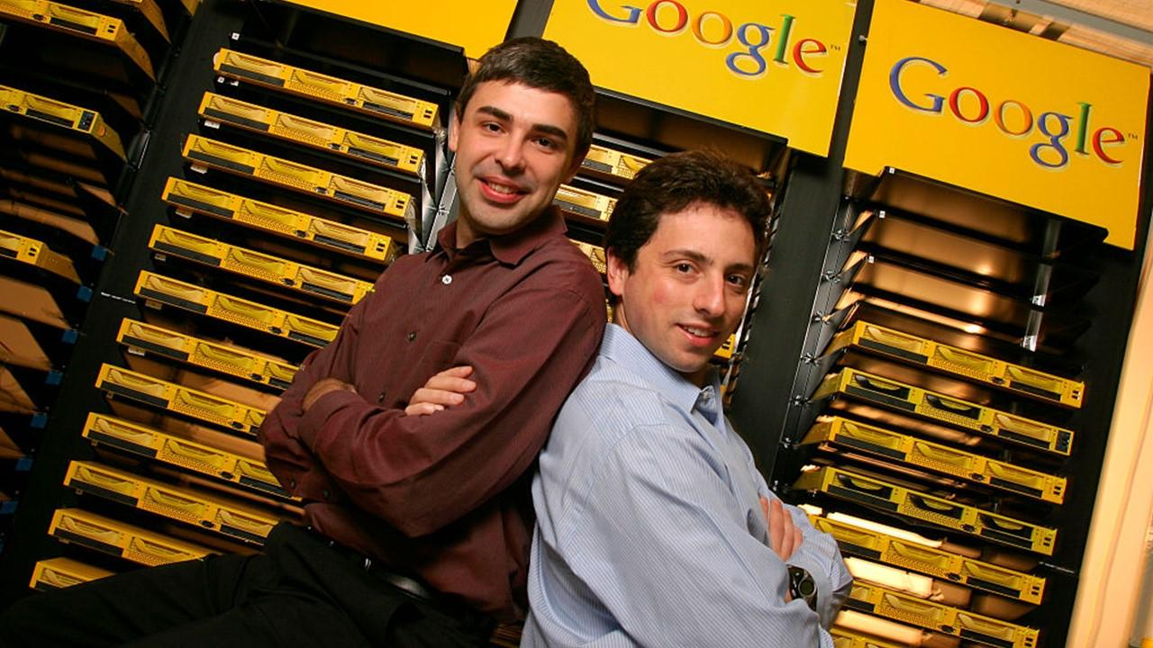are sergey brin and larry page friends