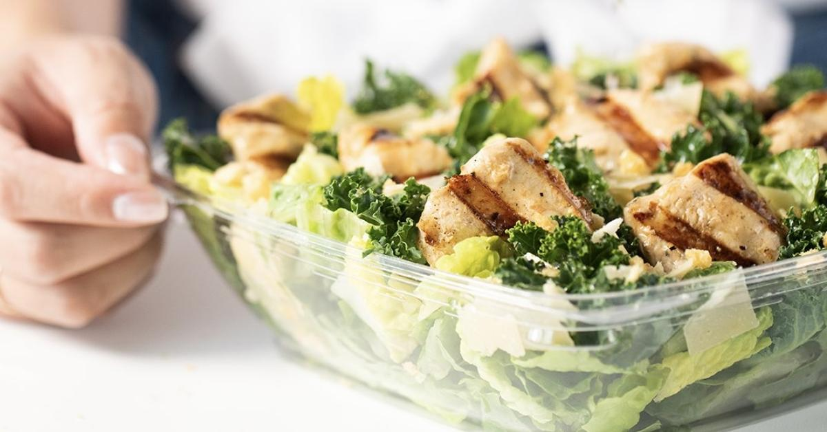 poussin fil une salade