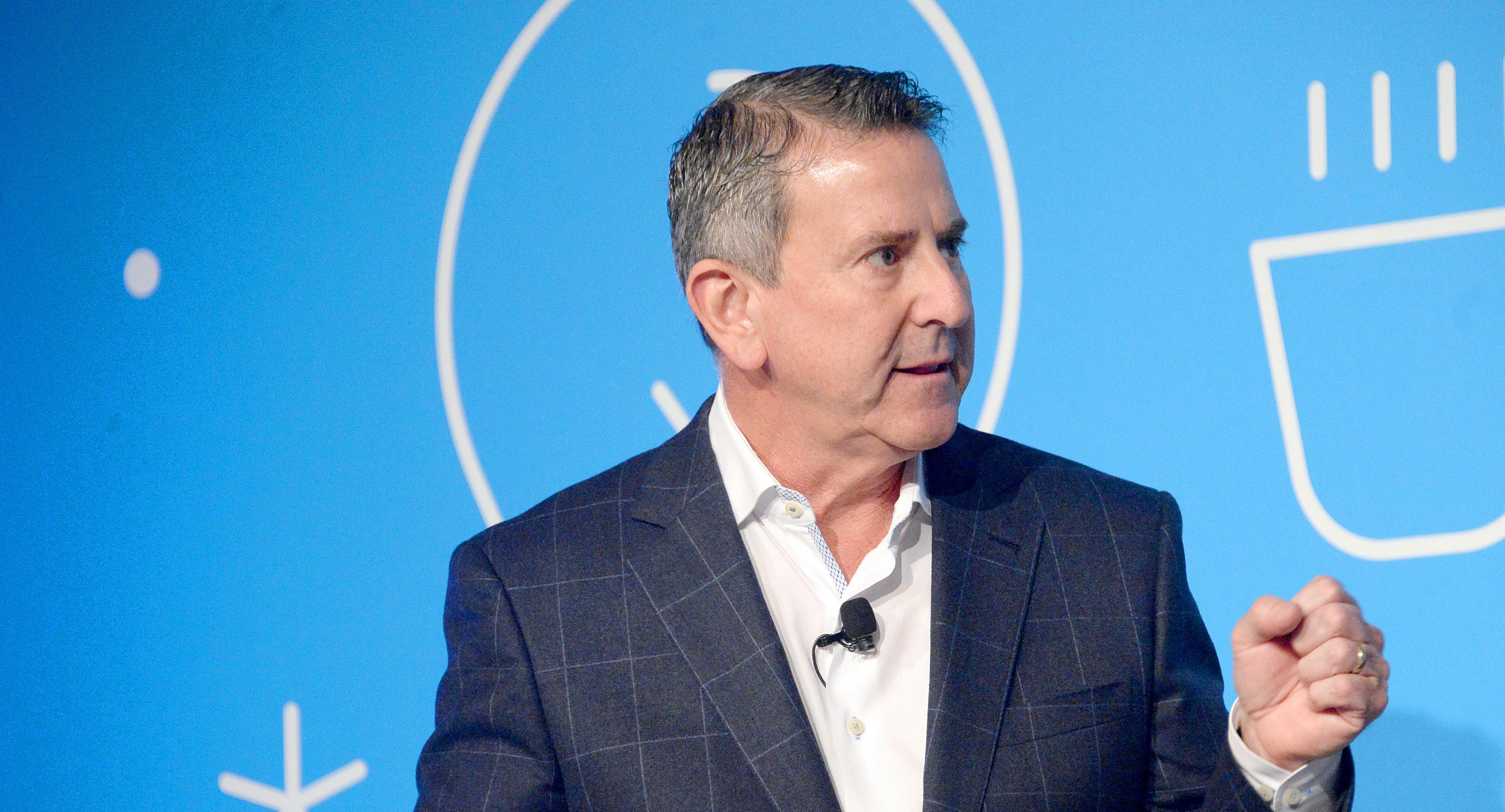 Target CEO Brian Cornell speaking on stage