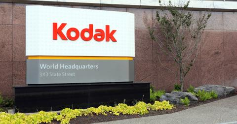 D.E. Shaw Stake Disclosure Boosts Kodak Stock