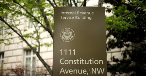 IRS sign
