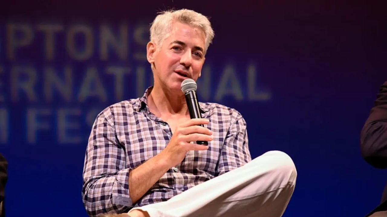 PSTH chairman and CEO Bill Ackman