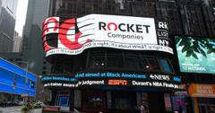 Rocket Companies' listing on the NYSE