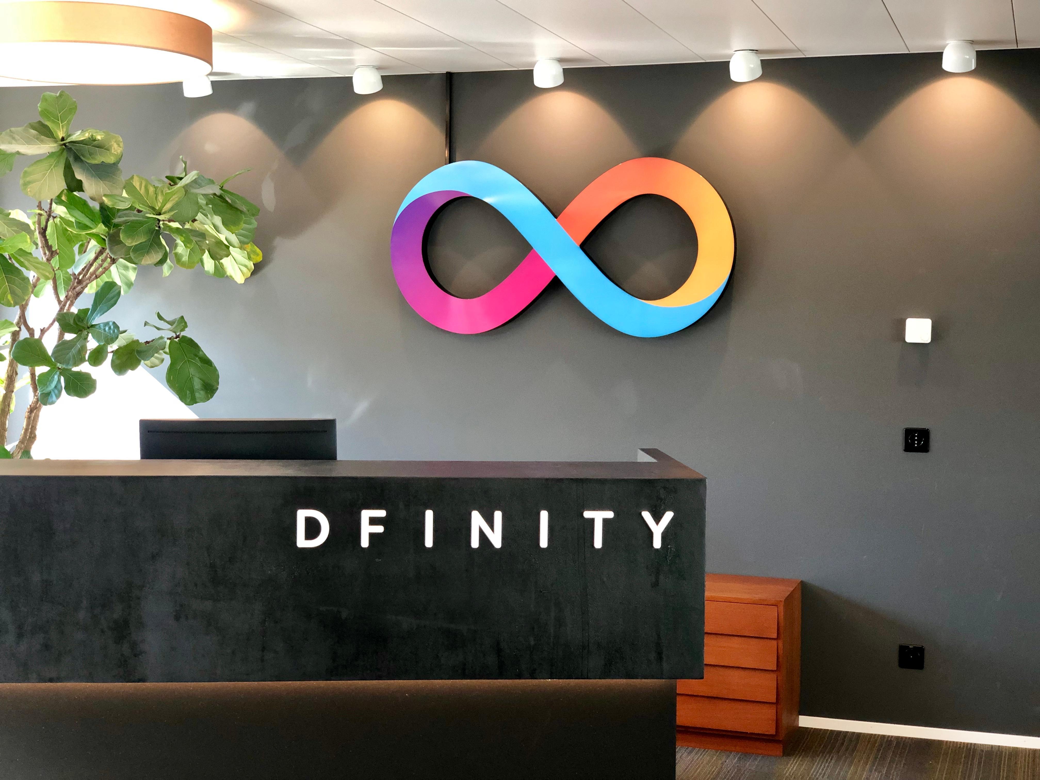 Dfinity backs Internet Computer crypto, Dfinity logo