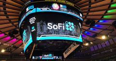 SoFi Logo on screen