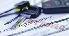 Car lease application
