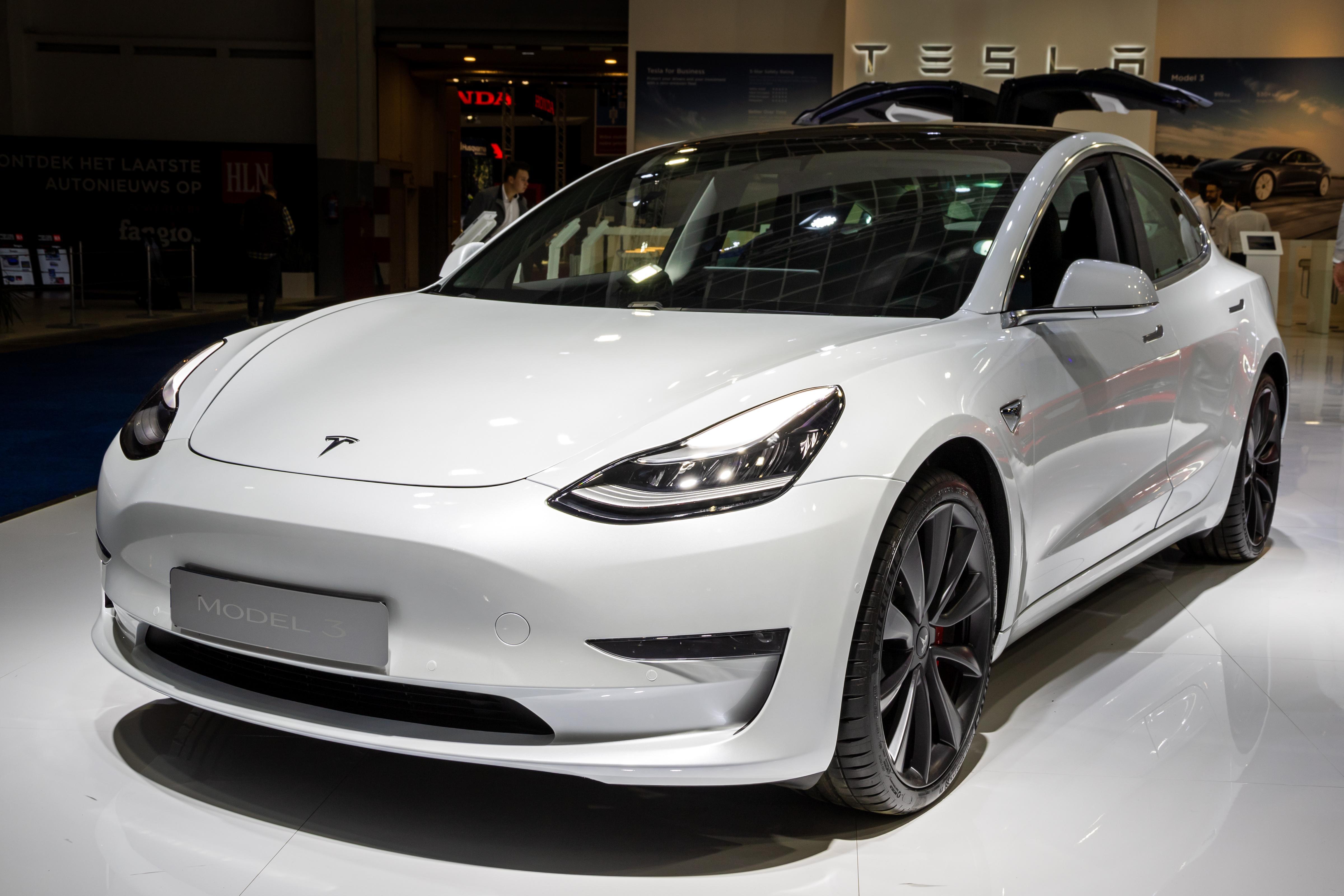 uploads///Tesla stock price