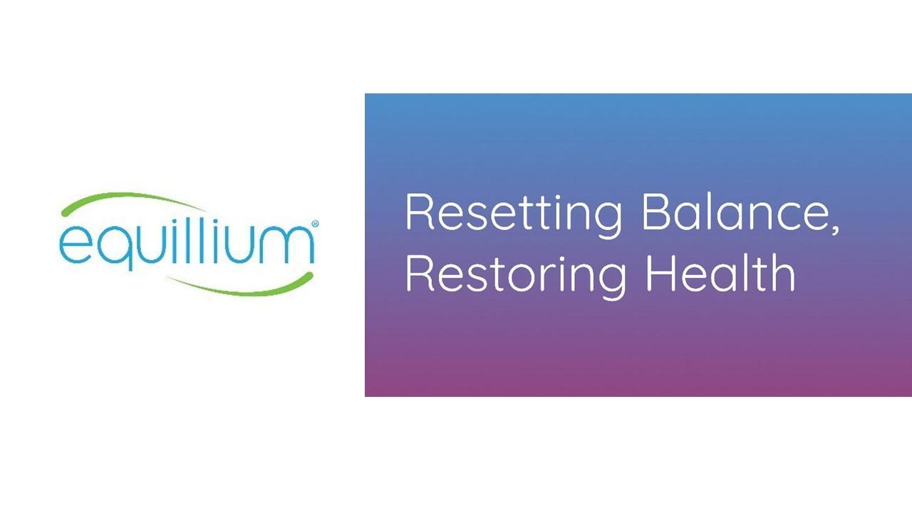 Equillium logo and banner