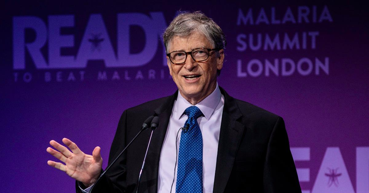 Bill Gates Doesn't Have a Medical Education but He's Big Into Medicine